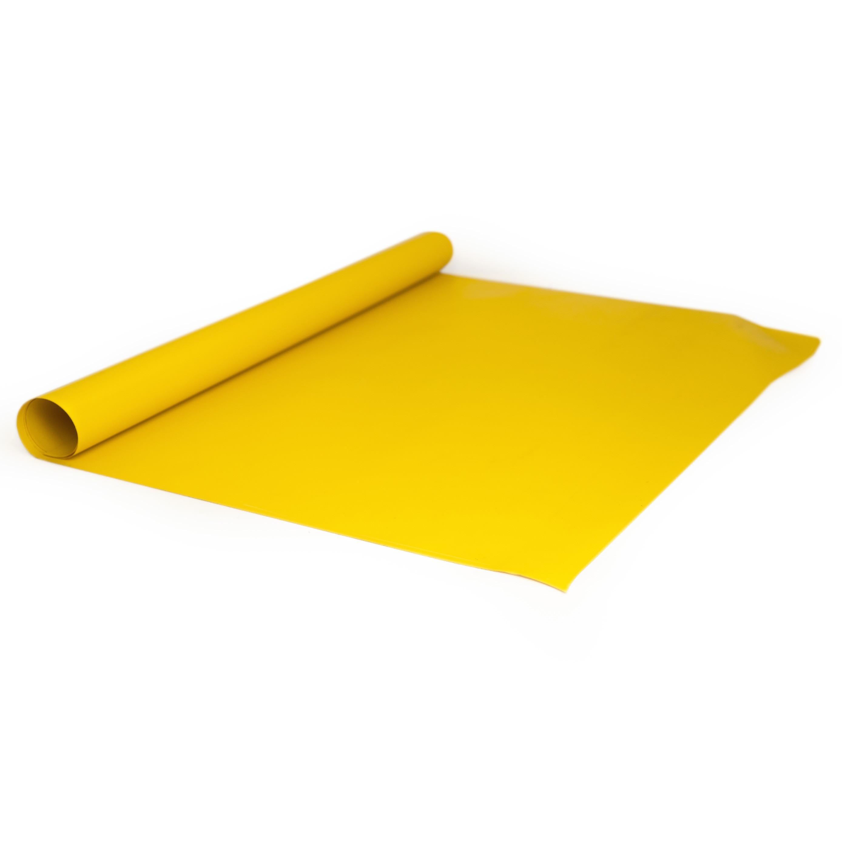 PVC Plane Gelb