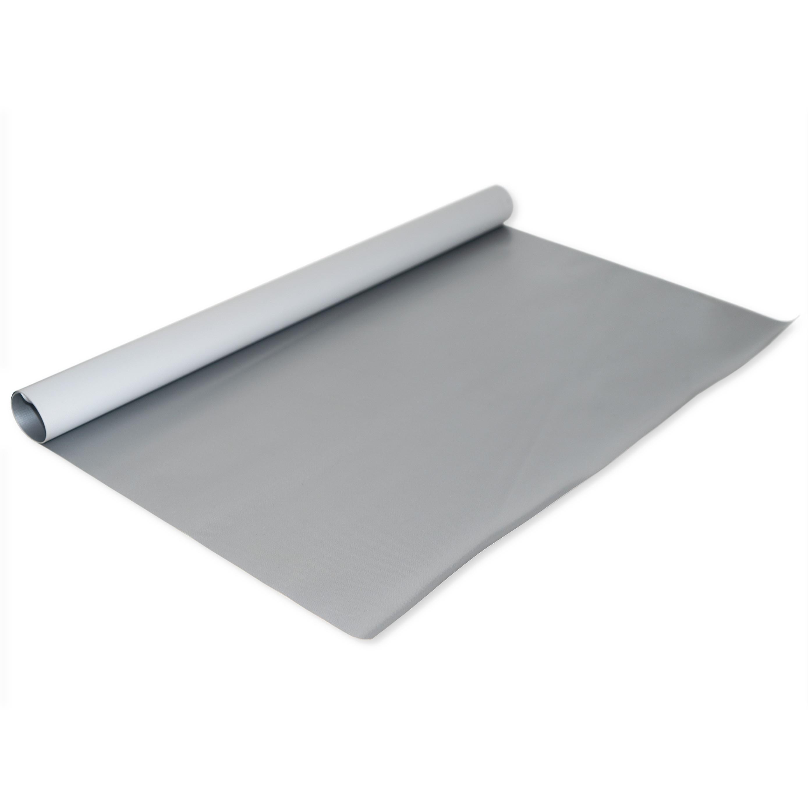 PVC Plane Silber 680 gr/m²