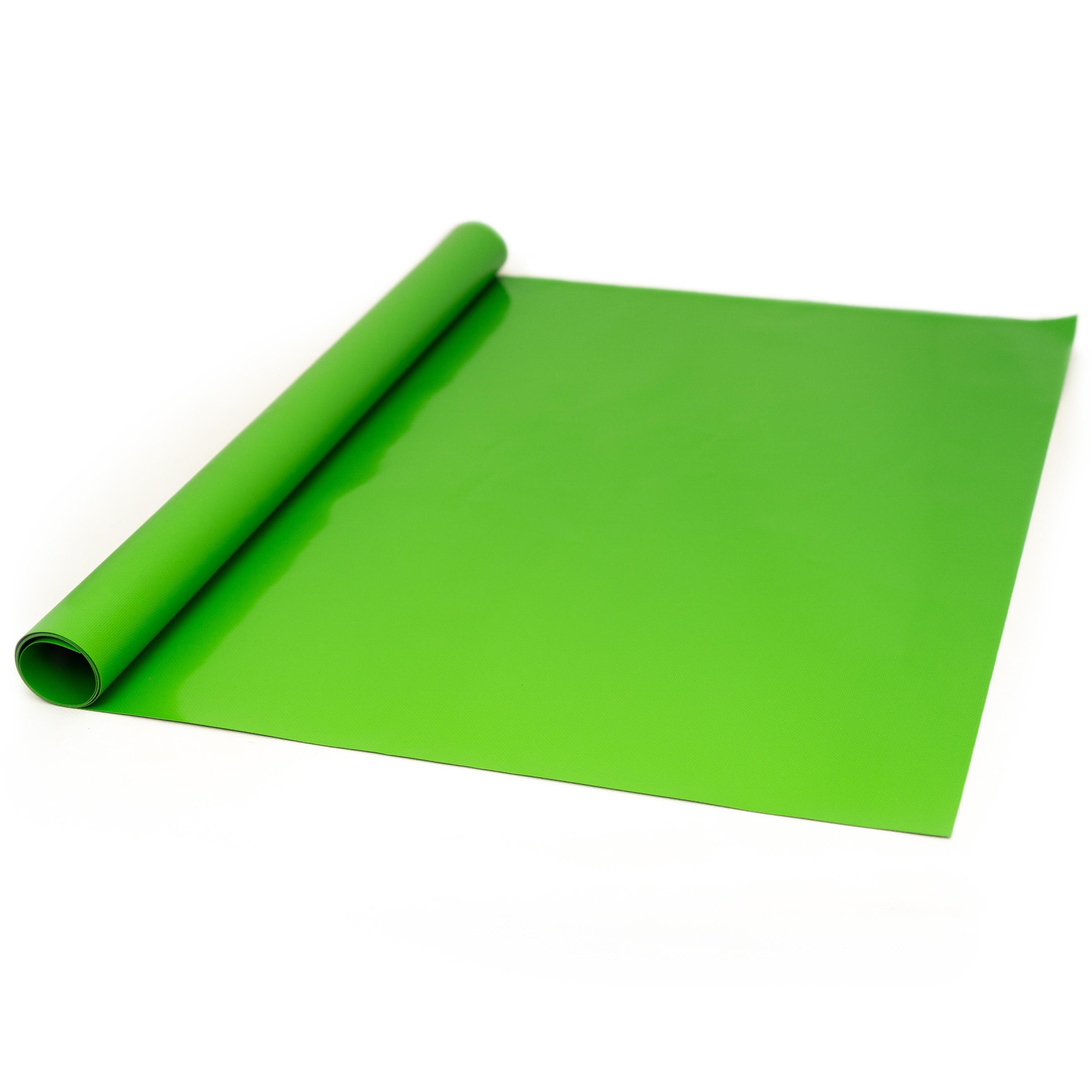 PVC Plane RAL 6018 Gelbgrün 680 gr/m²