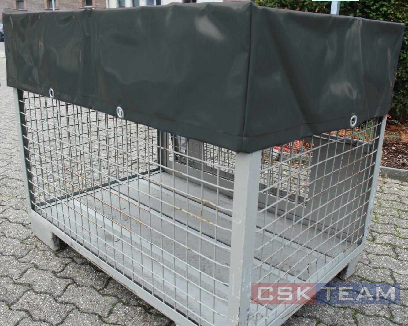 Abdeckhaube für Gitterbox